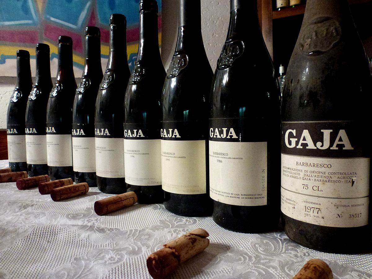I vini della cantina Gaja: storia vinicola italiana